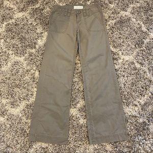 Vintage Y2k wide leg cargo flare pants